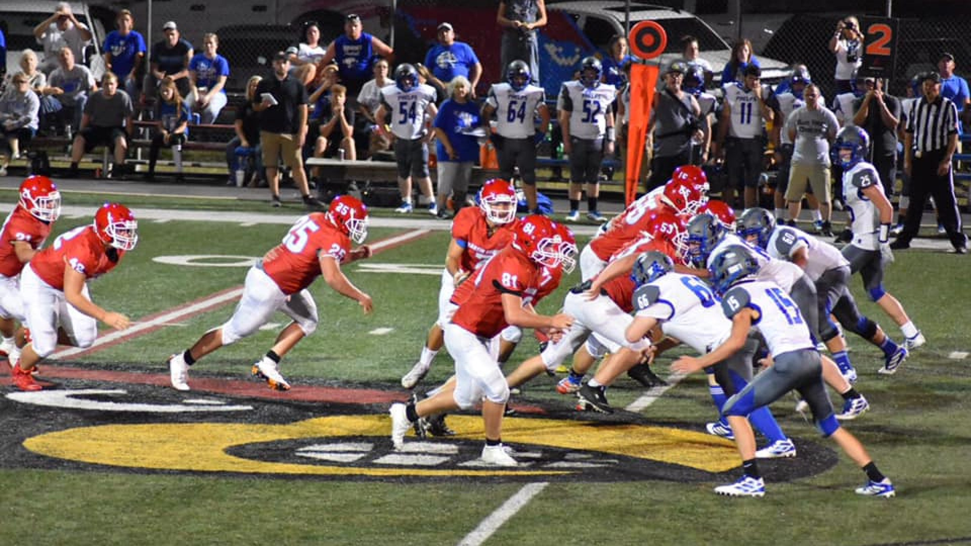 HS FOOTBALL: Cardinals roll past Hornets in Harvest Bowl