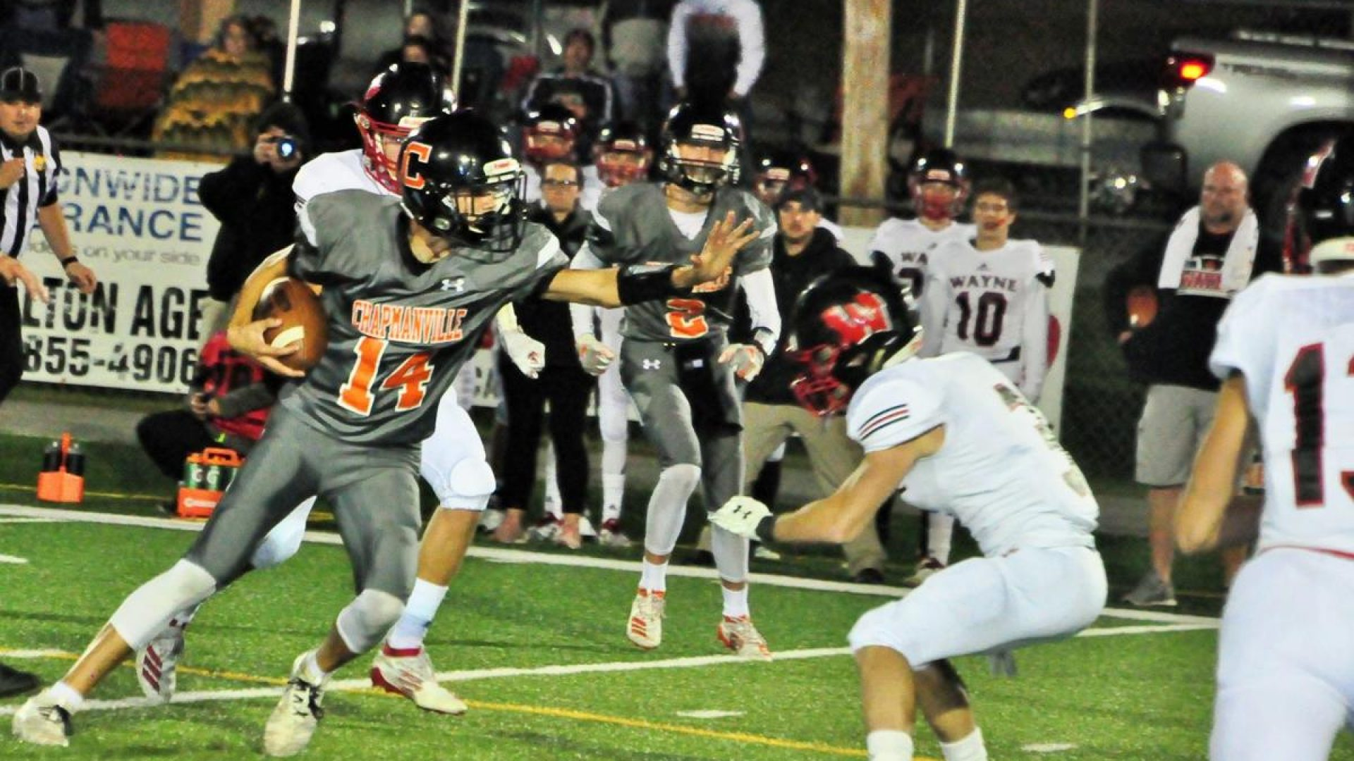 HS FOOTBALL: Chapmanville holds off Wayne