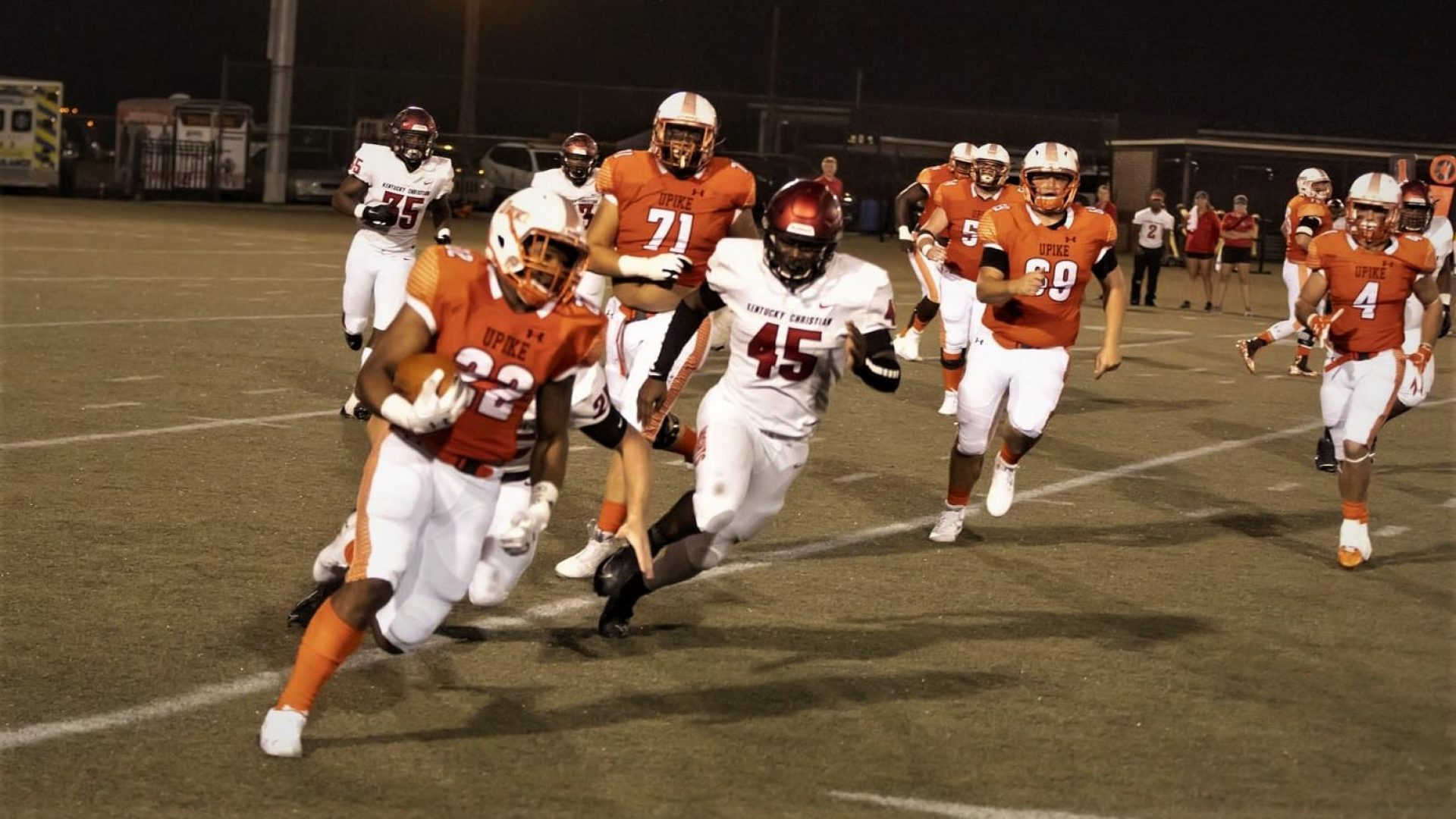 UPIKE FOOTBALL: Bears ready to tackle Campbellsville on Saturday