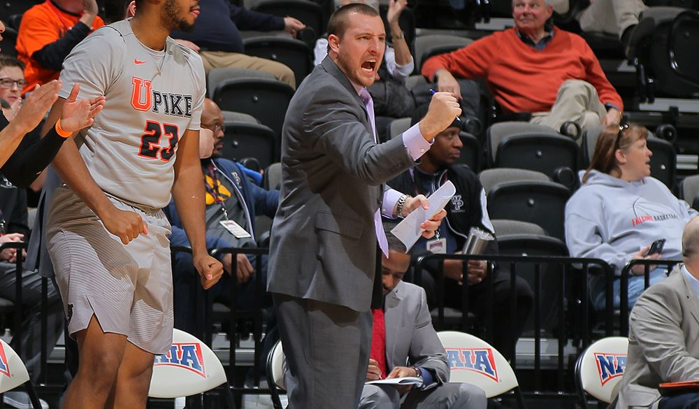 Meet UPIKE assistant men's basketball coach Evan Faulkner