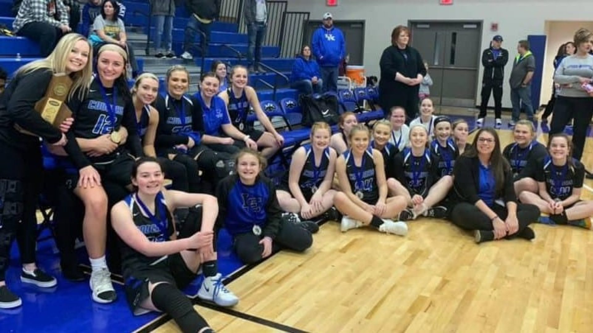 53RD DISTRICT TOURNAMENT: Back-to-back titles for Lady Cougars